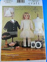 """Vogue 7350 Teresa Layman Vintage 18"""" Doll clothes Pattern UNCUT Factory ... - $11.87"""