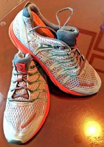 MERRELL Trail Running Shoes Blue Surf / Tiger Lilly J598172 Wmn Sz US 10.5 EU 42 - $35.57