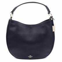 Coach Womens Natural Calf Navy Blue Nomad Hobo Glovetan Bag 36026.LINAV - $330.16 CAD