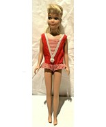Vintage Original Skipper 1963 Blond Doll Original Swimsuit Good Condition - $34.64