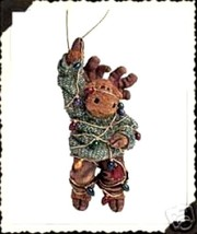 """Boyds Critter & Co Ornament """"Malley Twinklemoose"""" #25004 -New- 2002 - $24.99"""
