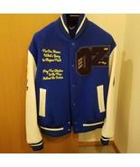 Louis Vuitton Virgil Abloh Wizard of Oz Varsity Jacket Blue Size 46 2019SS - $6,326.10