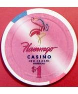 $1 Casino Chip. Flamingo, New Orleans, LA. V77. - $4.29