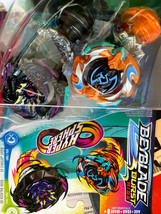 beyblade burst rise dual pack D52 and D74 new in package hyper sphere - $29.21