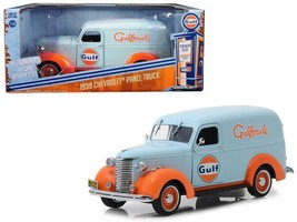 Greenlight 1:24 Running On Empty 1 1939 Chevrolet Panel Truck Gulf Oil 8... - $36.95