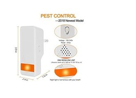 [2018 NEWEST MODEL] Ultrasonic Pest Repeller - Pest Control with Enhance... - $28.59
