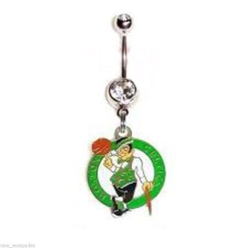 Belly Ring Nba Basketball Boston Celtics And Similar Items