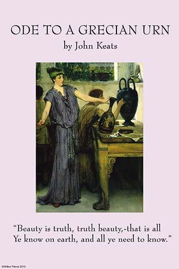 Ode to a Grecian Urn by John Keats - Art Print - $19.99 - $179.99