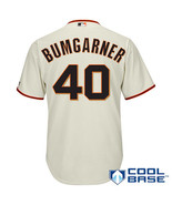 Men's San Francisco Giants Madison Bumgarner  Cream Alternate  Player Jersey - $37.99