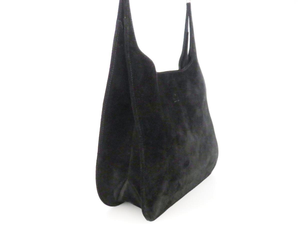 806b92ed458c Authentic GUCCI Black Suede Leather Shoulder and 50 similar items