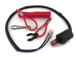 Kill Stop Switch Lanyard 87-97765M fit Mercury Mercruiser Mariner Outboard 2//4T
