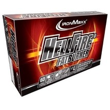 HELL FIRE Hardcore Fat Burner, 60 Capsules - $32.90