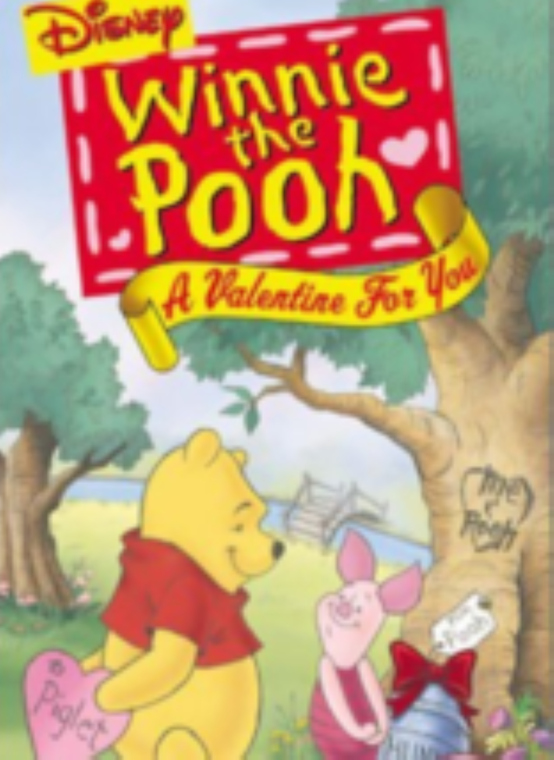 Winnie the Pooh - A Valentine for You Vhs