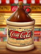 Coca-Cola Jug by Michael Fishel Metal Sign - $29.95