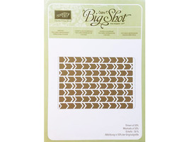 Stampin' Up! Textured Impressions Embossing Folder Arrows #132187 - $4.99