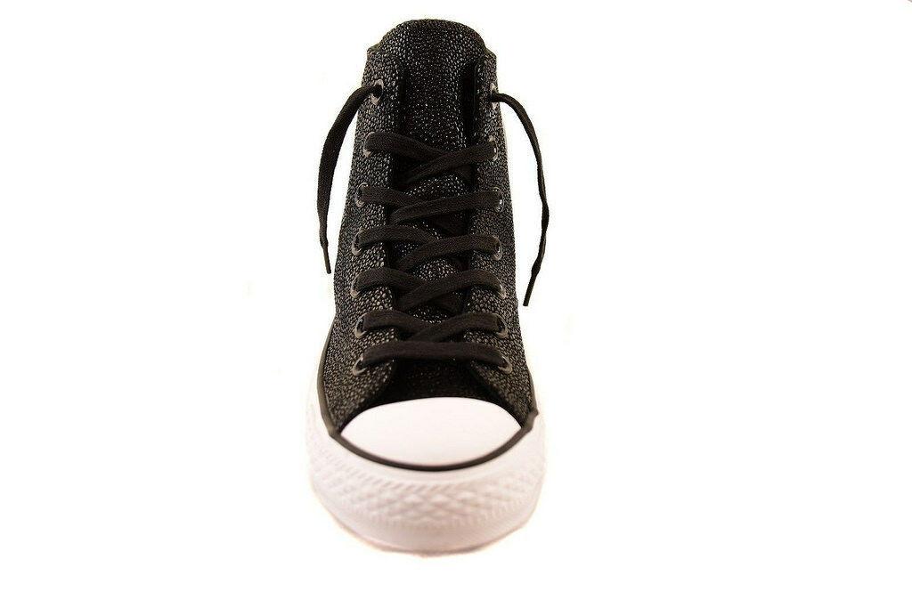 Converse Womens CTAS Stingray Metallic 553345C Sneakers Blk Size US 10 RRP $125
