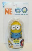 Despicable Me Minion Dave Figure Character Lite NiteLite Flashlite Toy N... - $12.59