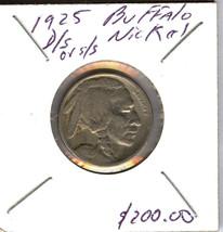 1925 D/S OR S/S BUFFALO NICKEL - $49.50