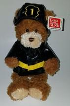 "NWT Gund Firefighter Teddy Bear Plush 11"" Stuffed Animal Toy Career & Li... - $19.75"