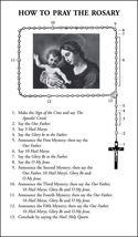 How to Say the Rosary with Luminous Mysteries Leaflet (Pack of 100)
