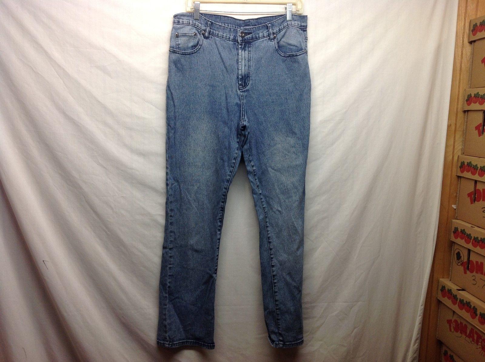 DG2 by Diane Gilman Women's Med Wash Jeans Sz 12