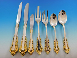 Medici Golden Accent by Gorham Sterling Silver Flatware Set 12 Service 9... - $6,700.00