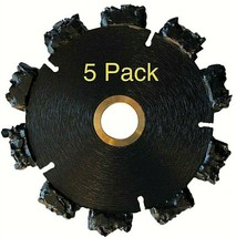"""5pk 4"""" Fire Rescue Root Cutter Carbide tipped Demolition Blade x .250  - $306.90"""