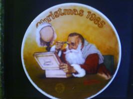 Grandpa Plays Santa, Norma Rockwell Collector's... - $26.00