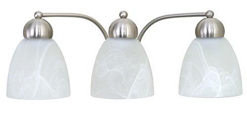 Kingbrite 3-Light Vanity Light Fixture For Bathroom