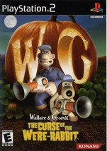 Wallace and Gromit Curse of the Were Rabbit Playstation 2 PS2  Complete CIB - $13.86