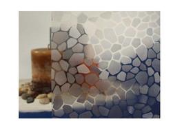 "Clear Cobblestone Static Cling Window Film, 36"" Wide x 75 ft - $292.55"