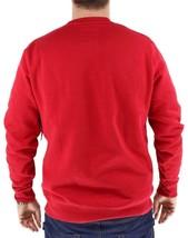 Levi's Men's Premium Classic Graphic Cotton Sweatshirt Red 3LVYM1111F image 2
