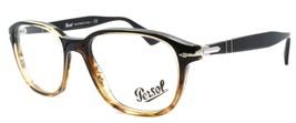 Persol 3145-V 1026 Men's Eyeglasses Frames 53-18-145 Brown ITALY - $98.80