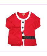 $59 Family PJs 2-Piece Long Sleeve Santa Suit Pajama Set, Red, Size S - $23.10