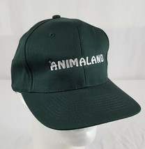 Animaland Strapback Baseball Cap Hat Green Adjustable Cotton Embroidered... - $12.99