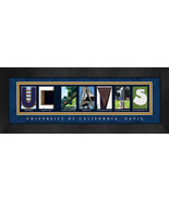 University of California - Davis Officially Licensed Framed Campus Lette... - $39.95