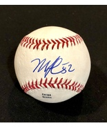 MIKE CLEVINGER AUTOGRAPHED Hand SIGNED O.L. BASEBALL Cleveland INDIANS w/COA  - £48.86 GBP