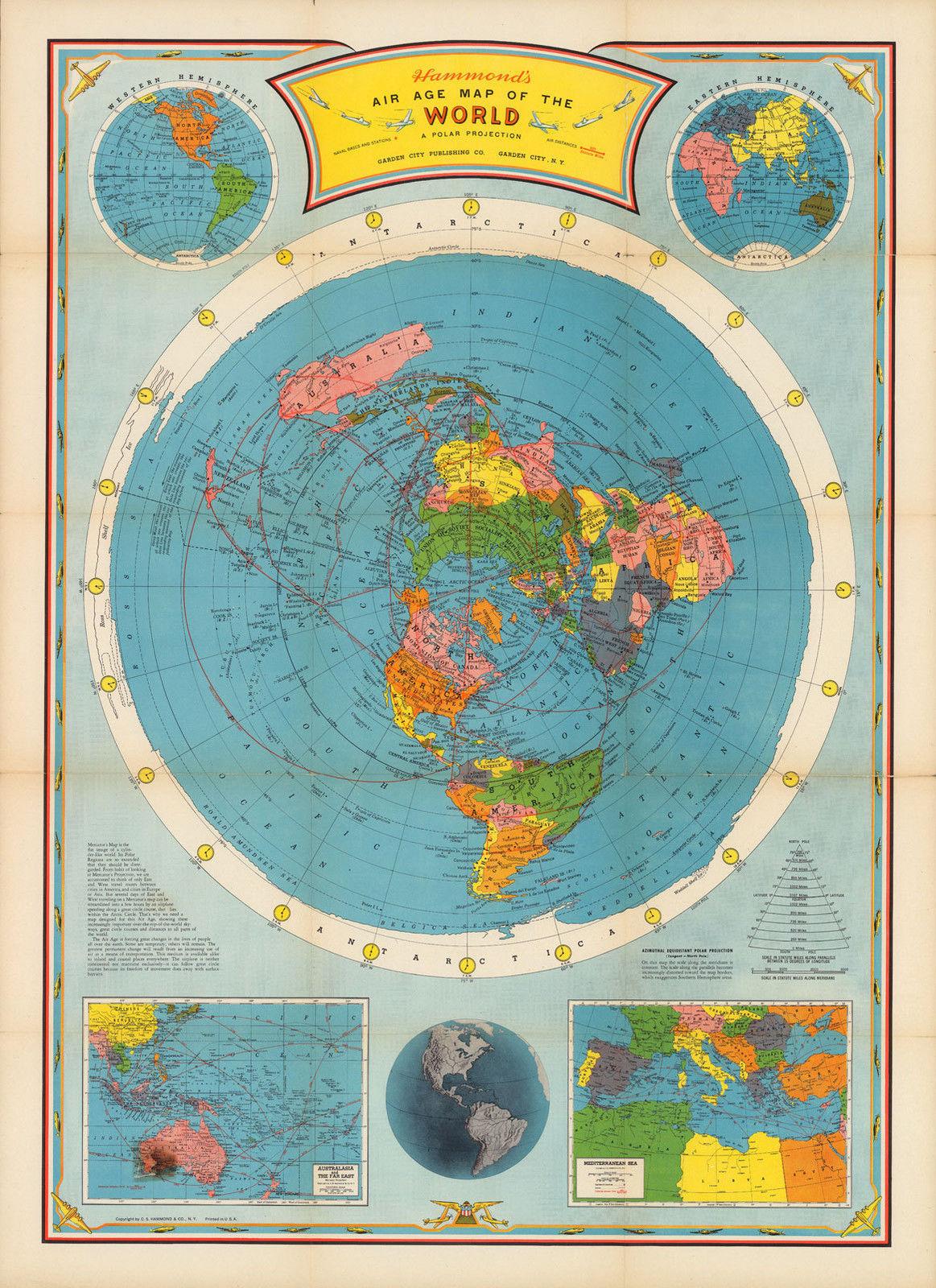 1946 Flat Earth 16\