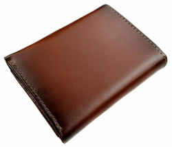 Nautica Men's Leather Credit Card Passcase Wallet Trifold Tan 31NU11X017 image 2