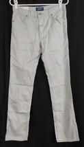Old Navy New NWT Girl's Light Gray Jeans Straight Leg 14 Slim (28 x 30) - $13.55