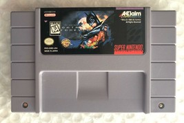 ☆ Batman Forever (Super Nintendo 1995) AUTHENTIC SNES Game Cart Tested W... - $8.42