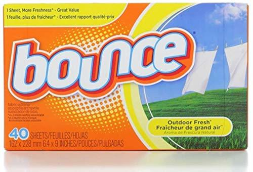 Bounce Fabric Softener Sheets, Outdoor Fresh 40 ea (Pack of 5) - $13.72