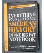 Everything You Need to Ace AMERICAN HISTORY in One Big Workman Publishin... - $4.99