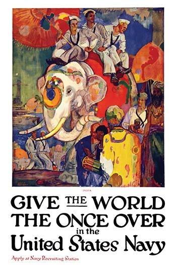 Primary image for Give the world the once over in the United States Navy by James Henry Daugherty
