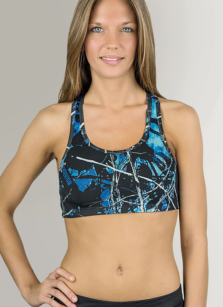 397ee3afb03d1 Reversible Camouflage Sports Bra