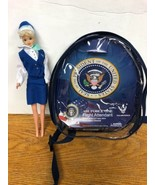 """DARON Air Force One Flight Attendant Doll BARBIE-size 11.5"""" Mini Backpac... - $14.99"""