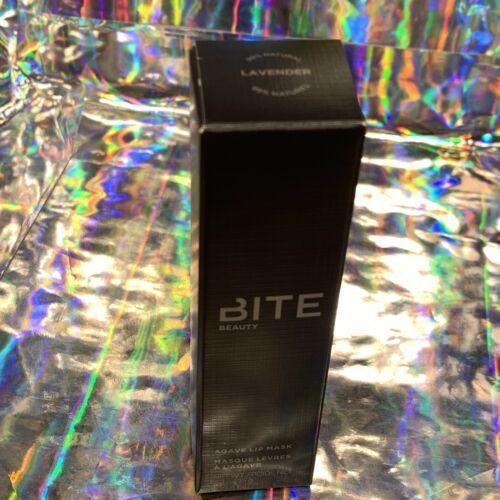 New In Box Original Formula BITE BEAUTY LAVENDER Agave Lip Mask Full Size 15g