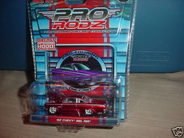 Maisto Pro Rodz '62 Chevy Bel Air In High Gloss Red Mip Free Usa Shipping - $12.19