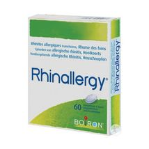 Rhinallergy boiron hayfever allergic rhinitis 60 tablets to suck - $16.59