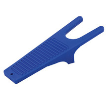 "12-3/4"" Hilason Horse Riding Durable Plastic Boot Jack Blue U-41BL - $16.95"